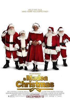 A MADEA CHRISTMAS ORIGINAL 27x40 MOVIE POSTER (2013) PERRY & MURRAY ()