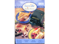 Breville single Sandwich Toaster, NEW