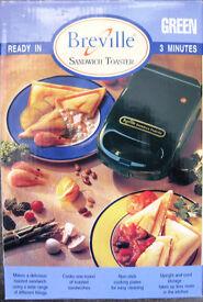 Breville single Sandwich Toaster, NEW
