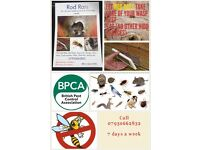 PEST CONTROL. 7 days a wk. VERY competitive prices! Call Rod Rats