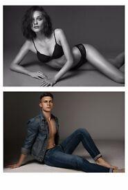 well established PHOTOGRAPHER (Elite Models): portfolios, portraits, body shots etc.