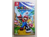 Nintendo Switch Mario + Rabbids Game - official uk version - New and sealed!