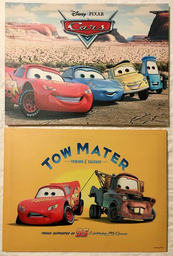 Disney Pixar Cars Canvas Prints
