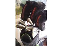 howson golf set all irons and 1 3 5 woods selling at 88