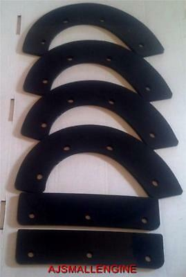 Honda Snow Thrower Paddles Set Of 6 72523-747-0000 72521-747-000 -hs521 Hs621