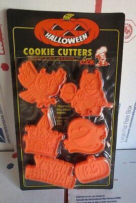 Good Cook Halloween Cookie Cutters 6 Piece Owl Devil Ghost -