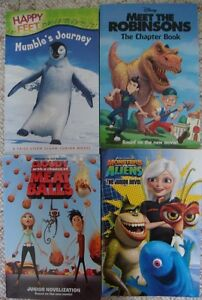 A lot of 4 movie books for Children / Young Readers