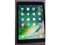 iPad Air 2 16GB Space Grey WIFI 3G/4G Cellular Unlocked in rotating leather case