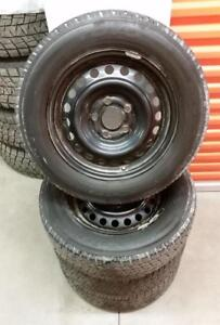 (H191) Pneus Hiver - Winter Tires 195-65-15 Toyo 6/32