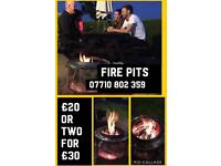 Patio heaters/ fire pits for sale