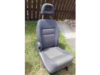 ALHAMBRA SEAT - PEOPLE CARRIER - SPARE - REMOVABLE - RIGHT REAR SEAT & HEADREST