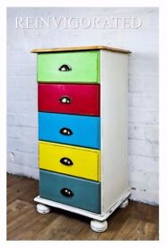 Pine Tallboy Chests Of Drawers