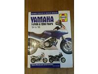 Haynes Manual for Yamaha FJ1100 / FJ1200