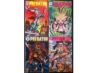 Dark Horse 'Predator' Comic Set Of Four (first edition, 1989)