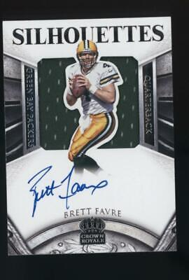 2015 Crown Royale Silhouettes Brett Favre 01/15 Jersey Auto