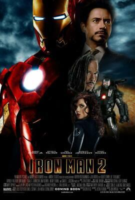 Iron Man 2 Movie Poster Print Wall Art 8x10 11x17 16x20 22x2
