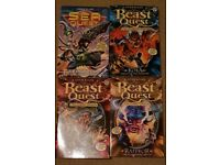 Beast Quest/Sea Quest books x4