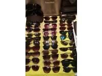 34 pairs sunglasses