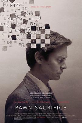 Sacrifice Movie Poster (PAWN SACRIFICE MOVIE POSTER FILM A4 A3 ART PRINT CINEMA )