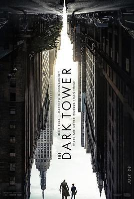Dark Tower   11 X17  Original Promo Movie Poster 2017 Matthew Mcconaughey Mint