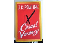 Hardcover Book - J K Rowling 'Casual Vacancy' - Excellent Cond./Unread (Unwanted Gift)
