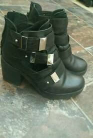 Topshop leather shoes