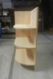 Solid Pine corner shelf unit *can be used as part of our modular kitchen set