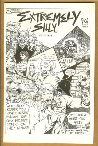 Extremely Silly #1 F/VF 1986 Ben Dunn Teenage Mutant Ninja Turtles