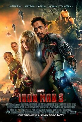 Iron Man 3 Movie Poster Print Wall Art 8x10 11x17 16x20 22x2