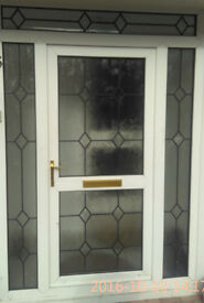 UPVC external doors