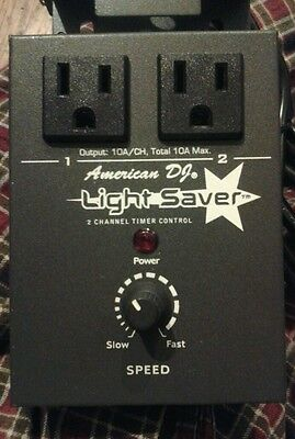 American DJ, Light Saver Chase Controller and Chauvet foot controller