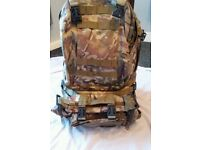 army rucksack with removeable pockets 30 litre
