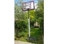 AND1 Slam Jam Polycarbonate basketball system