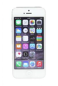 Apple-iPhone-5-A1429-32-GB-blanco-terminal-libre-buen-estado