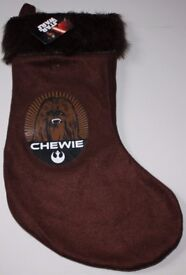 Star Wars Chewie Christmas Stocking - 10 Available