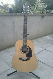 Seagull SM12 Acoustic 12 string guitar