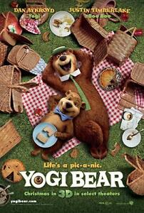 Yogi Bear original  animation movie poster