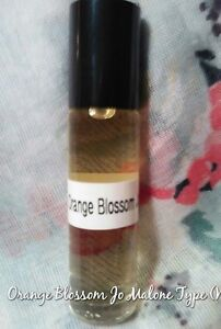 Orange Blossom Jo Malone Type (W) Pure Perfume Body Oil 1/3 oz  Roll - On