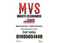 MVS RUBBISH CLEARANCE AND HOUSE CLEARANCE