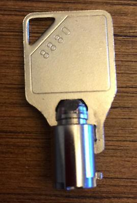 Hantle Tranax Atm Machine New Cassette Key 1700 1705w E4000 C4000 Scdu Mcdu
