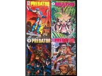 First Edition Dark Horse 'Predator' Comic Set Of Four (1989)