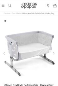 Chicco Next to Me (circle grey) for sale