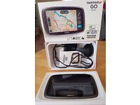 "TomTom GO 6000 Europe 6"" Inch Navigation system Lifetime Maps Traffic 42 countries, boxed like new"