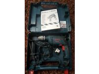 Bosch professional Hammer Drill + hard carry case - used