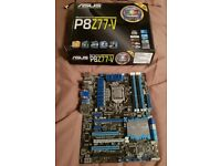Asus P8Z77-V motherboard with wifi + Intel i7-3770K 3.5 ghz Quad Core Processor
