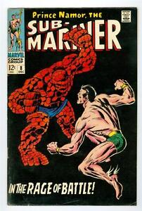 Sub-Mariner #8 (Marvel comics, 1968) FN+  ~ Key Issue/vs Thing!         L1504