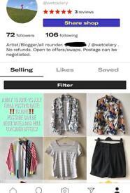 S/8/10 Designer/High Street/Vintage ladies clothes