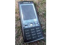 Sony Ericsson Cyber-shot K800i - Velvet Black Unlocked Mobile Phone Boxed