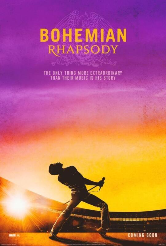 Bohemian Rhapsody Movie Poster Photo 8x10 11x17 16x20 22x28 24x36 27x40 Queen B