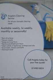 Angela's cleaning service